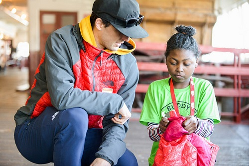 North Face Athletes and Partners Connect Kids with the Outdoors