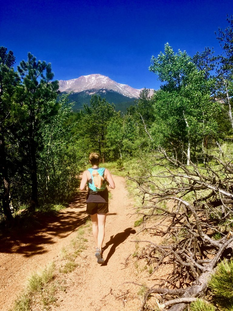 Lindsey (@lappenzo) works full-time as a medical physicist. She loves running in the Rocky Mountains and she is fully present in every second she spends with her daughter.